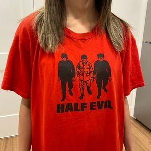 Half Evil 333 'Troop Trio' Red Tee Shirt